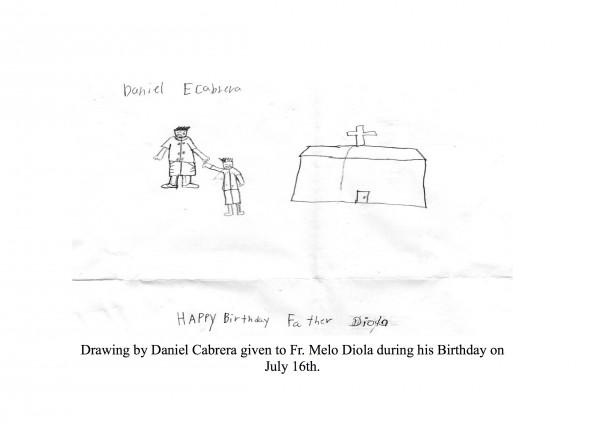 Daniel's drawing